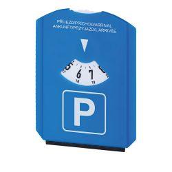 Indicator parcare cu racleta de gheata, Everestus, 20FEB1410, Plastic, Albastru