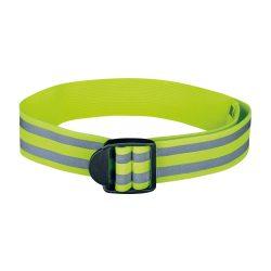 Banda elastica reflectorizanta de 61 cm, Everestus, 20FEB0430, Poliester, Galben