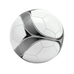 Minge de fotbal, marime 5, Everestus, FL04, alb, negru, pvc