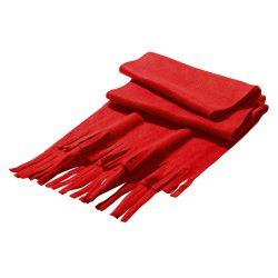 Scarf, Polar fleece: 200 g/m², Red