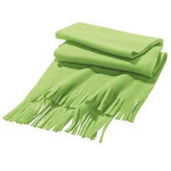 Scarf, Polar fleece: 200 g/m², Light green