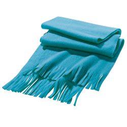 Scarf, Polar fleece: 200 g/m², Light blue