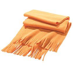 Scarf, Polar fleece: 200 g/m², Orange