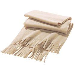 Scarf, Polar fleece: 200 g/m², Bege
