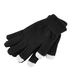 Gloves, Synthetic mesh, Black