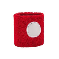 Wrist band, Polyester, Red
