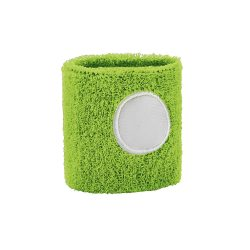 Wrist band, Polyester, Light green