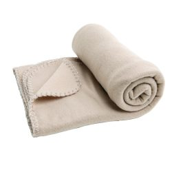 Patura din lana polar 145x95 cm, 180 grame/mp, Everestus, BT06, bej