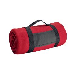 Patura de picnic din lana 150x120 cm, Everestus, BTS06, rosu