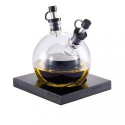 Set oliviera, XD by AleXer, OT01, sticla, lemn, negru