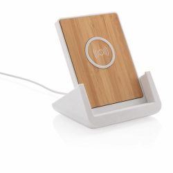 Ontario 5W wireless charging stand, white ABS white