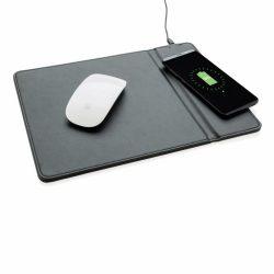 Mousepad cu incarcator wireless 5W, Everestus, MD, pu, negru