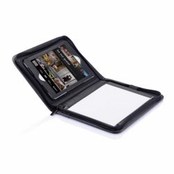 Husa si suport iPad Mini pentru calatorii, Everestus, ID, pu, negru