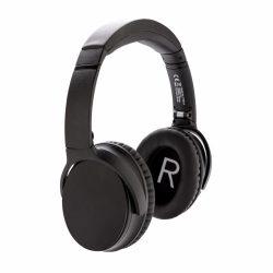 Casti audio ANC, cu microfon, Swiss Peak, HE, abs, negru