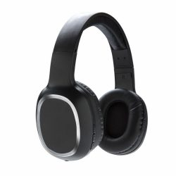 Casti audio wireless moderne, cu microfon, Everestus, OR, abs, pu, negru