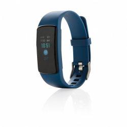 Pedometru usor si rezistent la apa, ecran OLED de 0.8 inch, Everestus, 20IAN2555, Albastru, Termoplastic, ABS