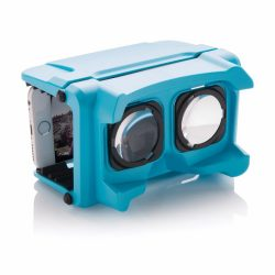 Ochelari virtuali pliabili, Everestus, VR, abs, albastru