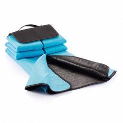 Patura de picnic din lana 130x145 cm, Everestus, PC01, peva, poliester, albastru