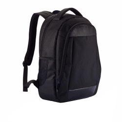 Rucsac Laptop 15.6 inch captusit, pvc free, Everestus, BM, poliester 600D, pu, negru, saculet si eticheta bagaj incluse