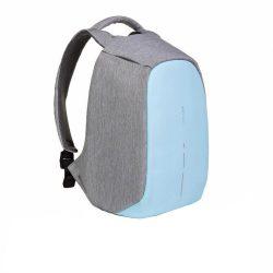 Rucsac antifurt, laptop 14 inch, buzunare ascunse pe exterior, XD by AleXer, BY, poliester, pu, albastru deschis