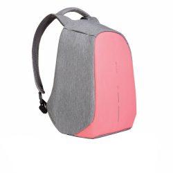 Rucsac antifurt, laptop 14 inch, buzunare ascunse, parti reflectorizante, XD by AleXer, BY, poliester, pu, roz
