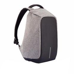 Rucsac antifurt, laptop 15 inch, buzunare ascunse, parti reflectorizante, XD by AleXer, BY, poliester, pu, gri