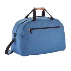 Geanta de voiaj eleganta, Everestus, FN, poliester 600D, pu, albastru, saculet de calatorie si eticheta bagaj incluse