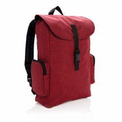 Rucsac Laptop 15.6 inch cu catarama, Everestus, BE, poliester 600D, rosu