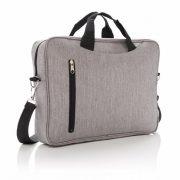 Geanta laptop 15 inch, Everestus, CC, poliester 600D, gri