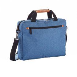 Geanta Laptop, Everestus, FN, poliester 600D, pu, albastru, saculet de calatorie si eticheta bagaj incluse