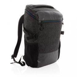 Rucsac laptop 15.6 inch, fara pvc, Everestus, 20IAN178, Poliester 900D, Negru