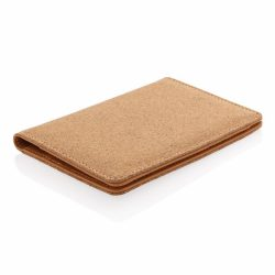Portofel pentru pasaport cu protectie RFID, Everestus, 9IA19162, Pluta, Poliuretan, Maro, 105x8x140 mm