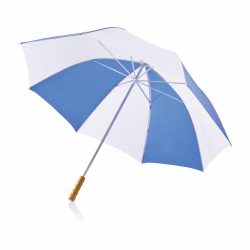 Umbrela golf 30 inch, Everestus, DE, poliester 210T, metal, albastru