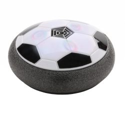 Hover ball de interior cu led colorat, Everestus, HR, abs, negru, saculet de calatorie inclus
