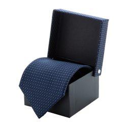 Cravata, 1500×100 mm, Everestus, 20FEB4284, Poliester, Albastru, Negru