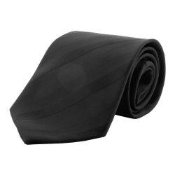 Cravata, 1510×100 mm, Everestus, 20FEB4298, Microfibra, Negru