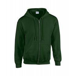 Sweatshirt, unisex, XL, S-XXL, Gildan by AleXer, 20FEB9042, Bumbac, Poliester, Verde