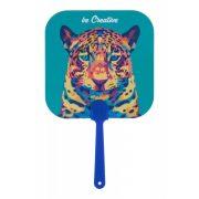 Custom made fan, 170×235 mm, Everestus, 20FEB4177, Hartie, Plastic, Albastru