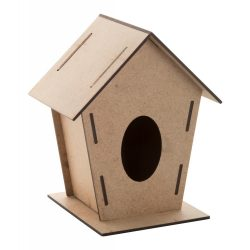 Bird house, 165×142×120 mm, Everestus, 20FEB7961, Lemn, Natur
