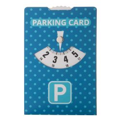 Parking card, 110×150 mm, Everestus, 20FEB13444, Hartie, Alb