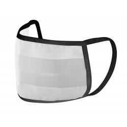 Masca lavabila de protectie faciala, 200x100 mm, Antonio Miro, 20IUN0079, Negru, Bumbac