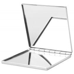 Oglinda de buzunar, 60×60×7 mm, Everestus, 20FEB13553, Metal, Argintiu