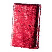 Notepad, 145×215×20 mm, Everestus, 20FEB10362, Poliester, Rosu