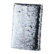 Notepad, 145×215×20 mm, Everestus, 20FEB10363, Poliester, Argintiu