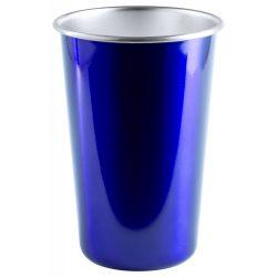 Pahar, 500 ml, ø88×128 mm, Everestus, 20FEB14352, Otel inoxidabil, Albastru, Argintiu