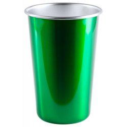 Pahar, 500 ml, ø88×128 mm, Everestus, 20FEB14353, Otel inoxidabil, Verde, Argintiu