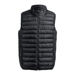 Bodywarmer vest, unisex, XXL, S-XXL, 20FEB14048, Poliester, Negru