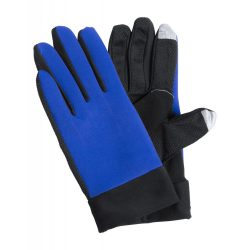 Manusi sport touch, Everestus, 20FEB17086, Poliester, Albastru, Negru