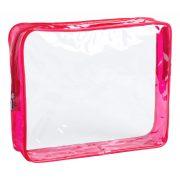 Geanta cosmetice, 245x200x60 mm, Everestus, 20IUN1347, Rosu, PVC