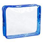 Geanta cosmetice, 245x200x60 mm, Everestus, 20IUN1344, Albastru, PVC